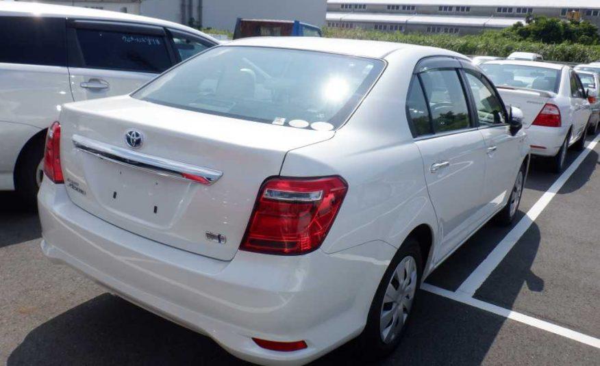 White Toyota Axio 2016 Hybrid(reserved)