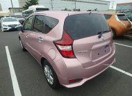 2018 Nissan Note Metallic Pink