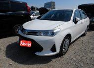 2020 White Toyota Axio